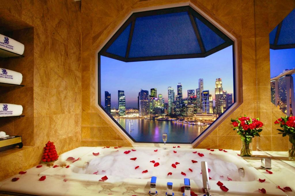 女子旅にオススメのシンガポール「リッツカールトン・シンガポール」