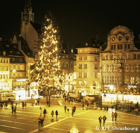 ストラスブールクリスマス (c)OT Strasbourg