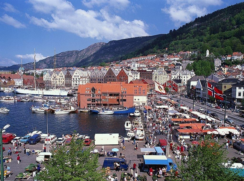 世界のかわいい街 ノルウェー・ベルゲン