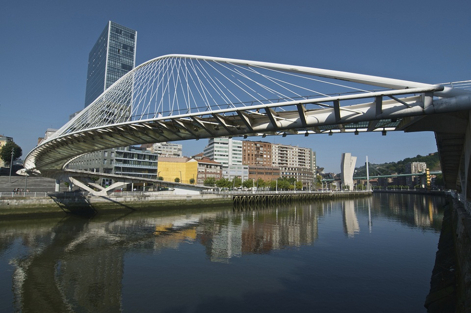 Calatrava's Footbridge (Bilbao)