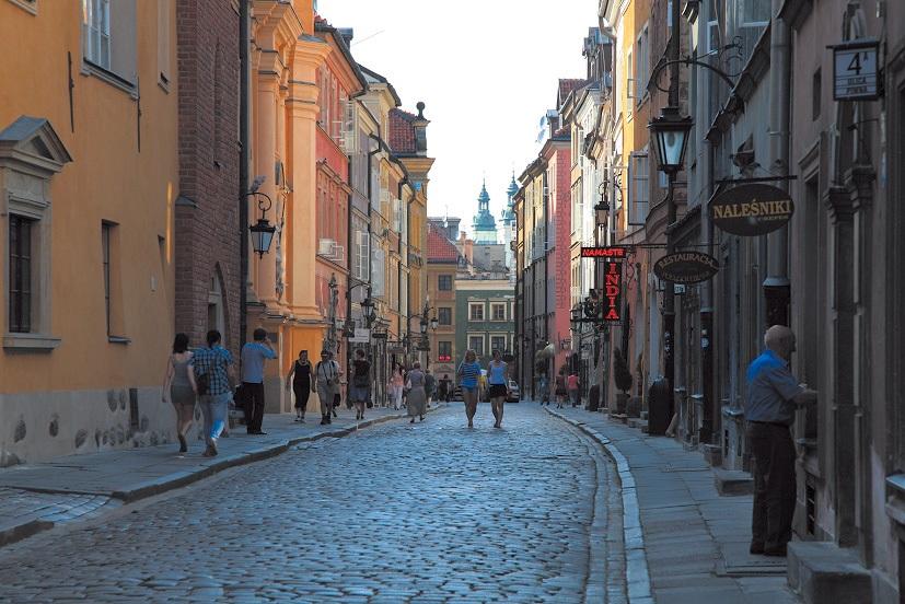ワルシャワの旧市街