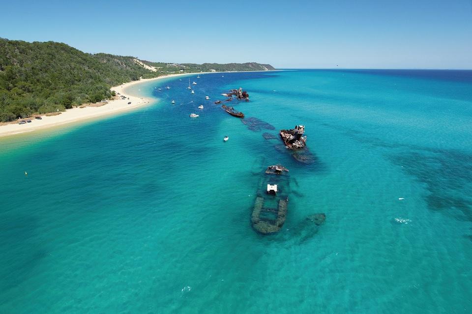 2016年恵方の旅先 オーストラリア モートン島