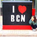 【yuochiai さん/スペイン】I LOVE BCN バルセロナとはしばしのお別れをして、マドリードへ向かいます。 また戻ってくるからねバルセロナ! #barcelona#spain#travelgram#trip#genic_mag#genic_travel#officialtravel#bcn#バルセロナ#スペイン#かわいい旅#タビジョ