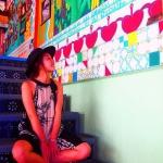 【ekko_umzw さん/バリ島】Motel Mexicola 内装がすっごくかわいくて感動!またまた友達にモデルお願いした。 #かわいいとこだらけ #カラフル大好き #バリはおしゃれなお店いっぱい #ワンダーランド #女子旅 #旅人 #海外旅行 #travel #trip #instatravel #instagood #バリ #スミニャック #bali #seminyak #短期留学 #motelmexicola #cafe #写真撮ッテル人ト繋ガリタイ #写真スキナ人ト繋ガリタイ #genic_mag #ジェニック女子 #タビジョ