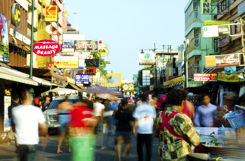 FBバンコクの街1