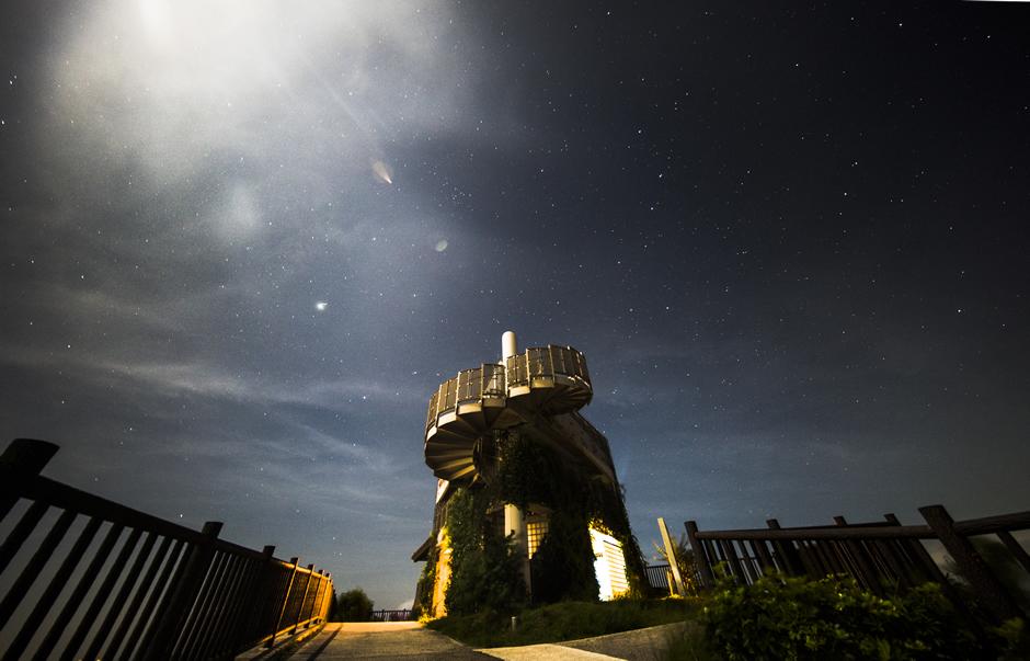 夜のバンナ公園