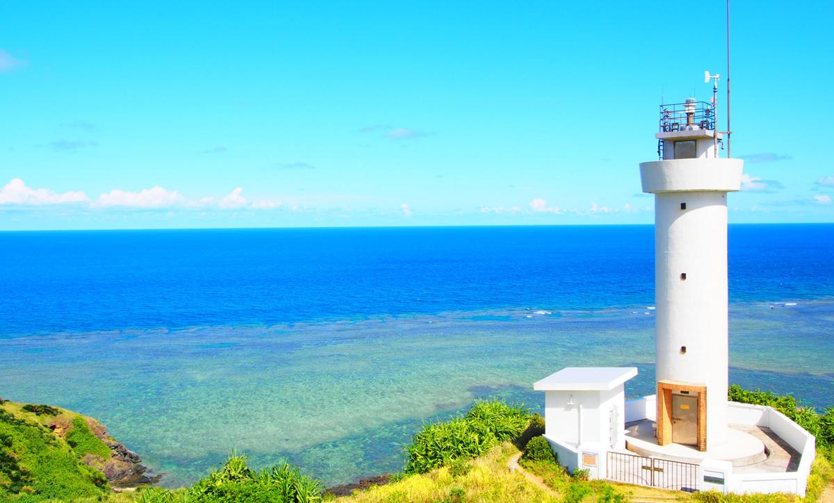 石垣最北端 灯台