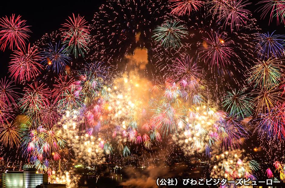 【1位】びわ湖大花火大会2