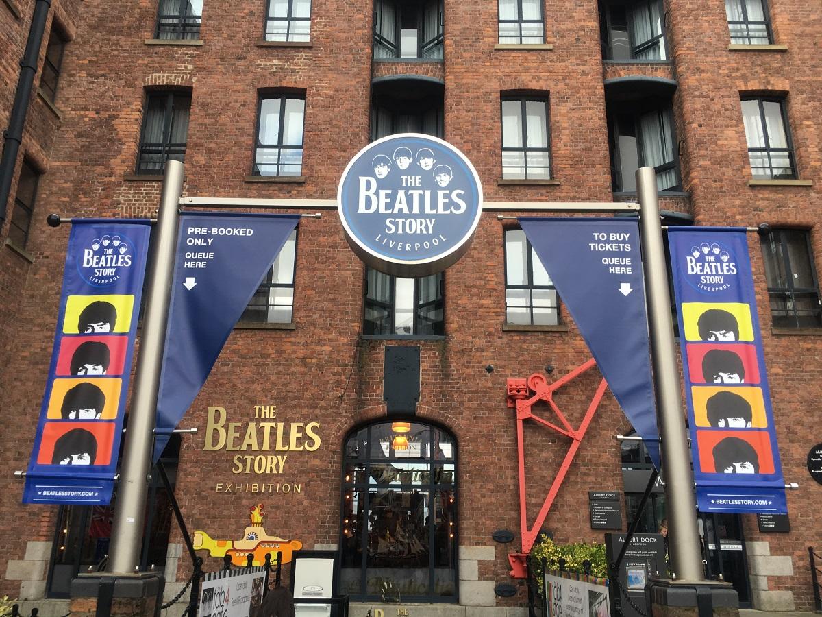 ビートルズ体験型ミュージアム「Beatles Story」(リバプール)