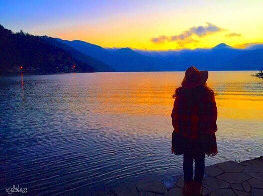 栃木 日光 中禅寺湖