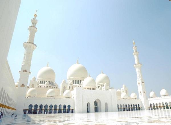 アラブ首長国連邦 シェイク・ザイード・モスク