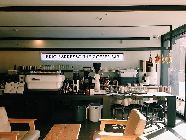 ソウル カフェ EPIC ESPRESSO THE COFFEE