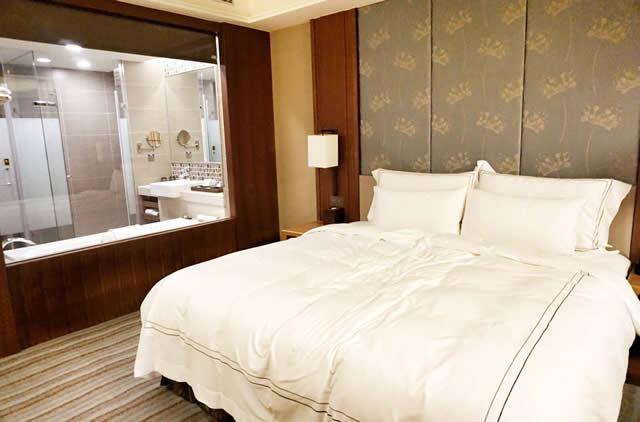 台湾・フーロンホテル淡水 お部屋の一例