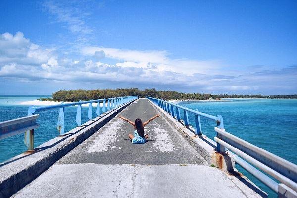 ニューカレドニア ムリの桟橋