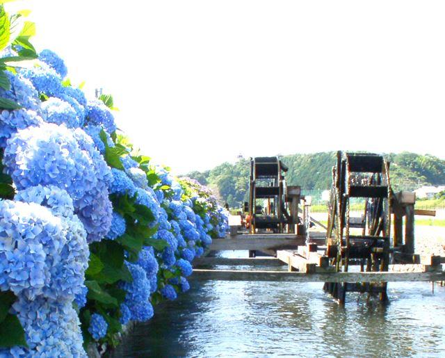 高知県の見どころ 安並水車の里