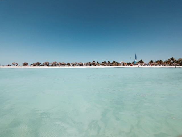 キューバ カヨラルゴ島 ビーチ