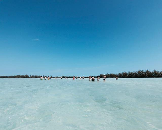 キューバ カヨラルゴ島 海