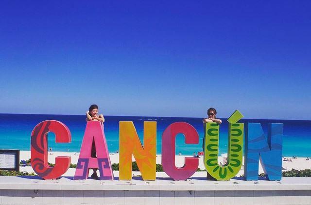 メキシコのフォトジェニックスポット5位:カンクンサイン
