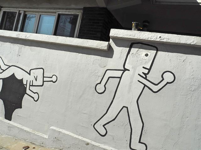 塩里洞 ソグムキル(ヨムニドン 塩道)の壁画