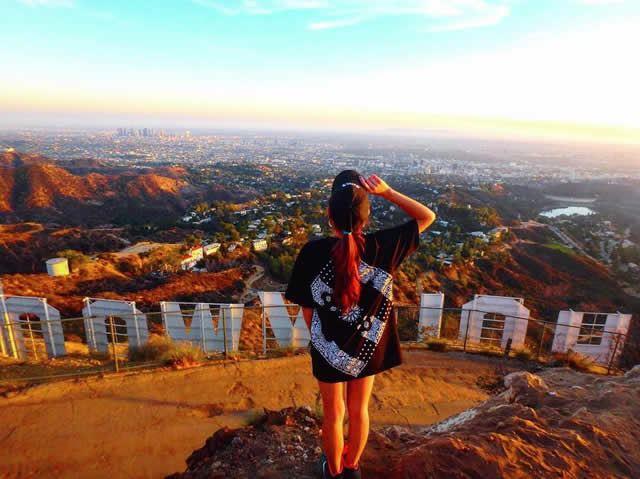 ロサンゼルスのフォトジェニックスポット第5位:ハリウッドサインの裏側
