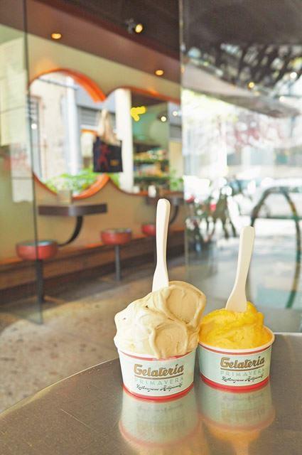メルボルンのアイスクリーム屋さん「Gelateria Primavera」