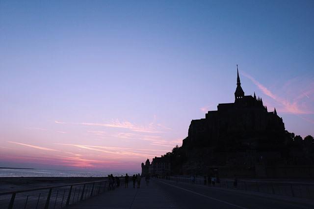 フランスのフォトスポット モン・サン・ミッシェル