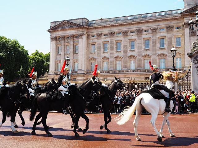 イギリス・ロンドン バッキンガム宮殿