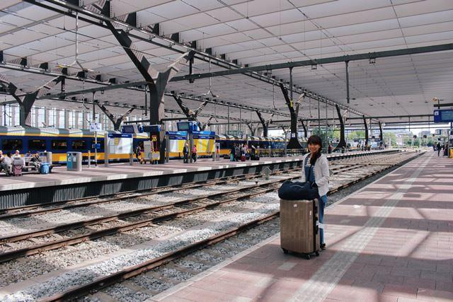 オランダ ユーレイルパスを利用して鉄道の旅