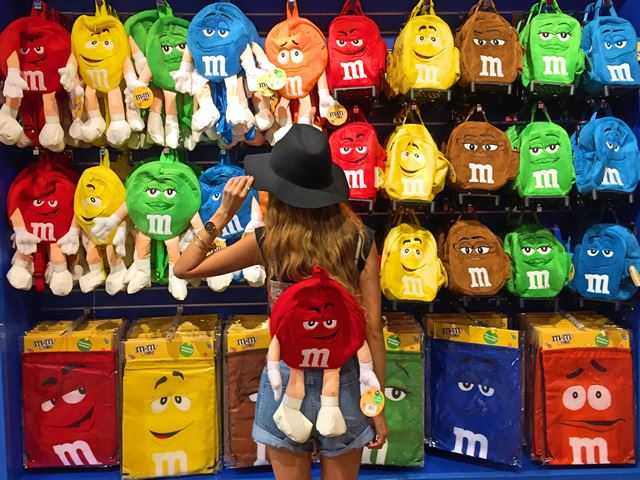 ラスベガス「m&m's World Lasvegas」