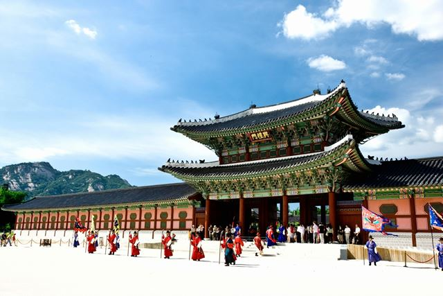 韓国・ソウル 景福宮
