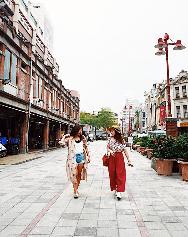 台湾・台北 迪化街(ディーホアジエ)
