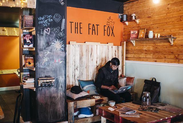 カナダ・イエローナイフ「The Fat Fox」