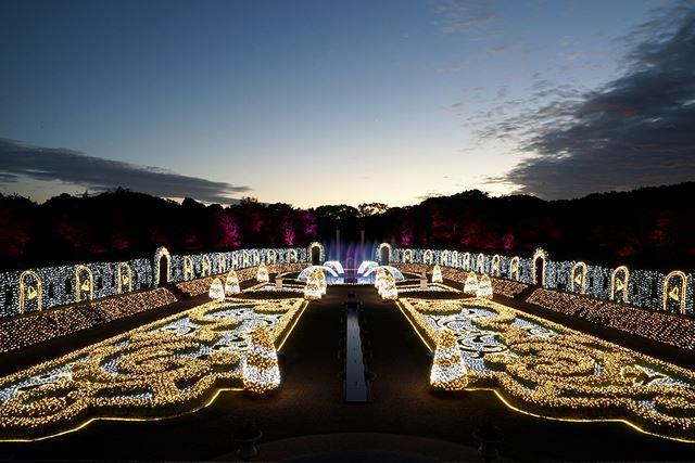 長崎ハウステンボス 光の宮殿 ジュエルイルミネーションショー
