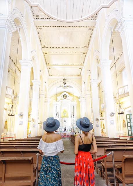 マカオ 聖オーガスティン教会