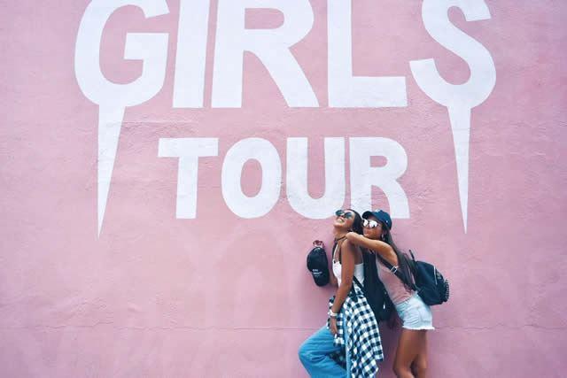 ロサンゼルス メルローズ GIRLS TOUR