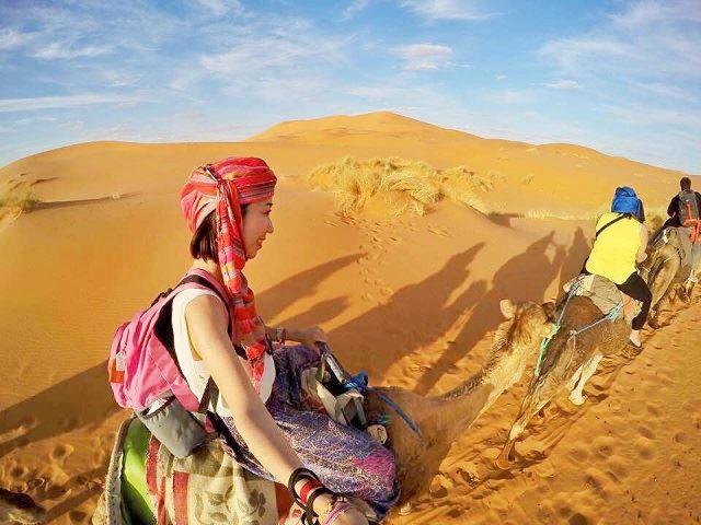 モロッコ オススメスポット サハラ砂漠