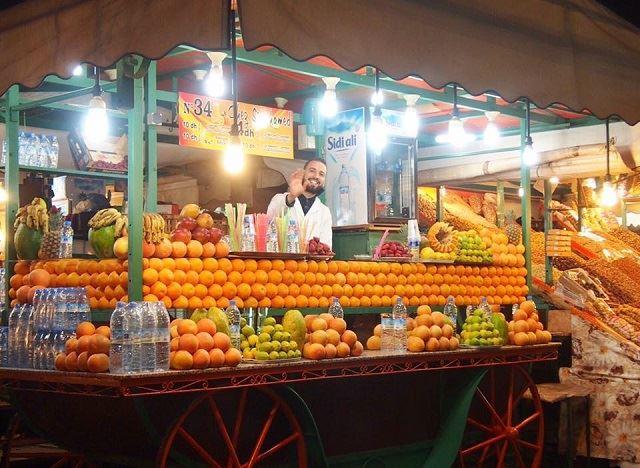 モロッコ オススメスポット フナ広場