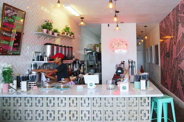ロサンゼルスのカフェ「Pearl's Finest Teas」