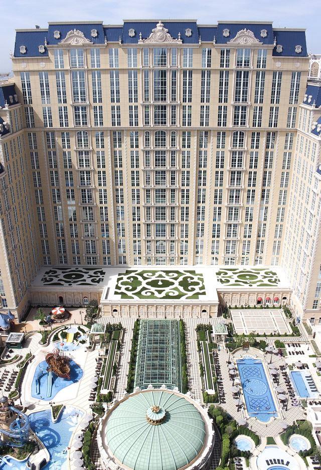 世界遺産 マカオ「パリジャン・マカオ」エッフェル塔空の眺め
