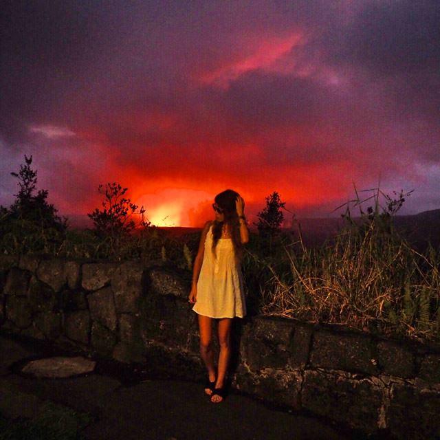 ハワイ島 ハワイ火山国立公園(Hawaii Volcanoes National Park)