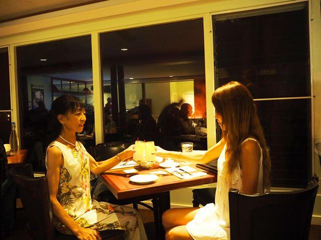 ハワイ島のレストラン「The Rim」