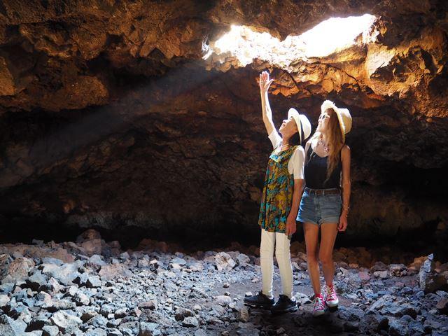 ハワイ島 マウナラニのオーラの洞窟