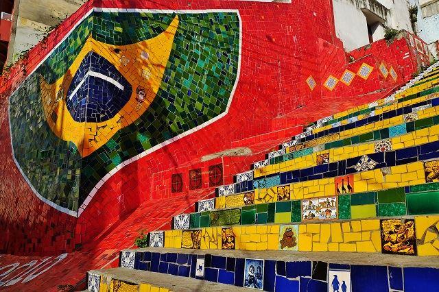 ブラジル フォトジェニックスポット セラロンの階段