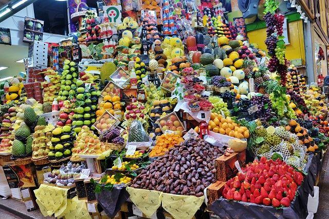 ブラジル フォトジェニックスポット ムニシパウ・デ・サンパウロ市場