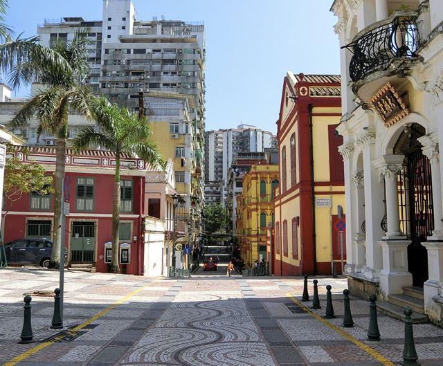 世界遺産の街 マカオ ラザロ地区