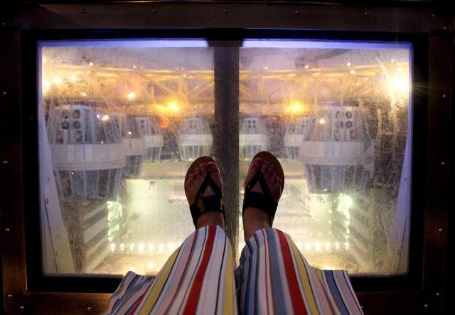 世界遺産の街 マカオ スタジオシティの観覧車
