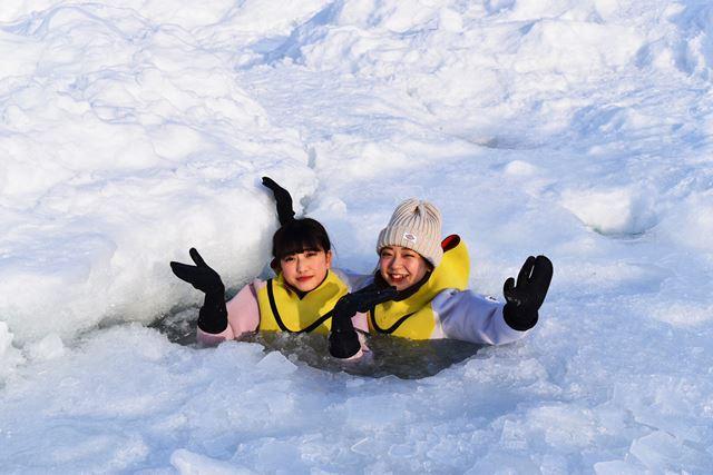 北海道 知床 流氷