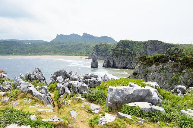 沖縄本島最北端 辺戸岬