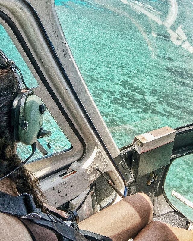 グレートバリアリーフ ヘリコプター体験