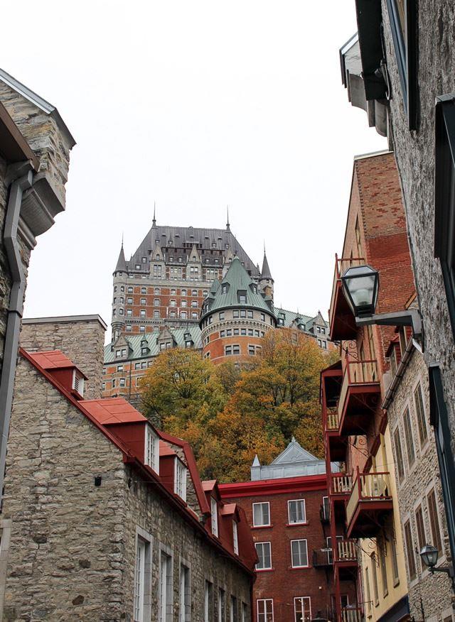 カナダ ケベックシティ Fairmont Le Chateau Frontenac